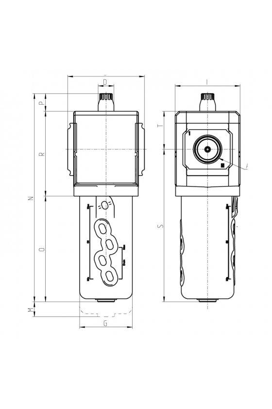 MX2-1/2-L00 LUBRICADOR 1/2 SERIE MX