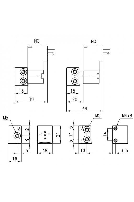 P001-02 PLACA BASE INDIVIDUAL P/SERIE P