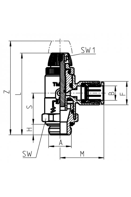 TMCO 976-1/8-8 REGULADOR DE CAUDAL CIL.BIDIREC.
