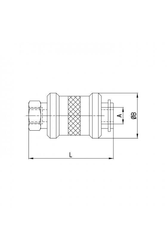 VMS-138-3/8 VALVULA 3/2 N.C. CORREDERA 3/8PUL