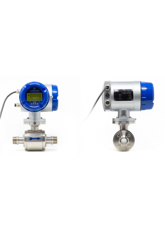 "ETG T PRO 040 Medidor electromagnético 1 1/2"" acero inoxidable cnx roscada 110-220 vac serie pro."