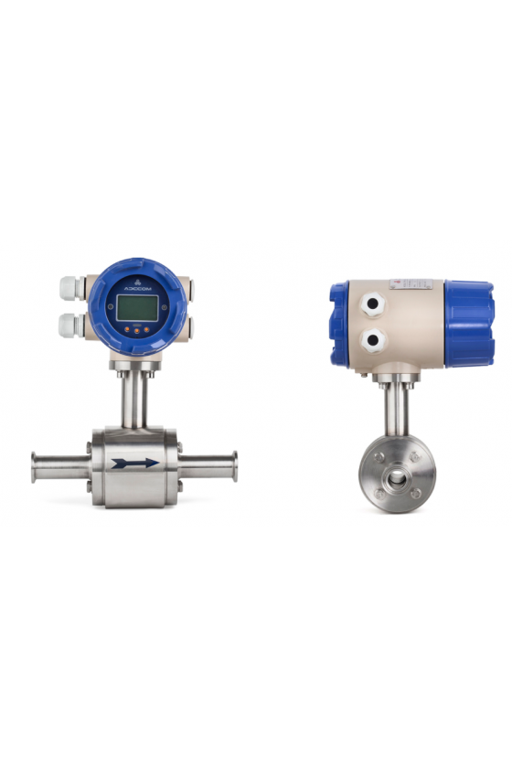 "ETG C PRO 100 Medidor electromagnético 4"" cnx clamp serie pro."