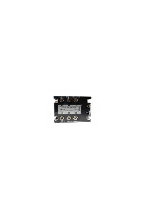 ZR3AA6625 relevador estado solido trifásico 25 amp 90-280vac salida 660vac