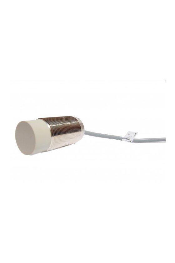Sensor Inductivo Sensado Largo 30X25mm 10-30vdc con cable PNP NO+NC ZI30L-3025PC