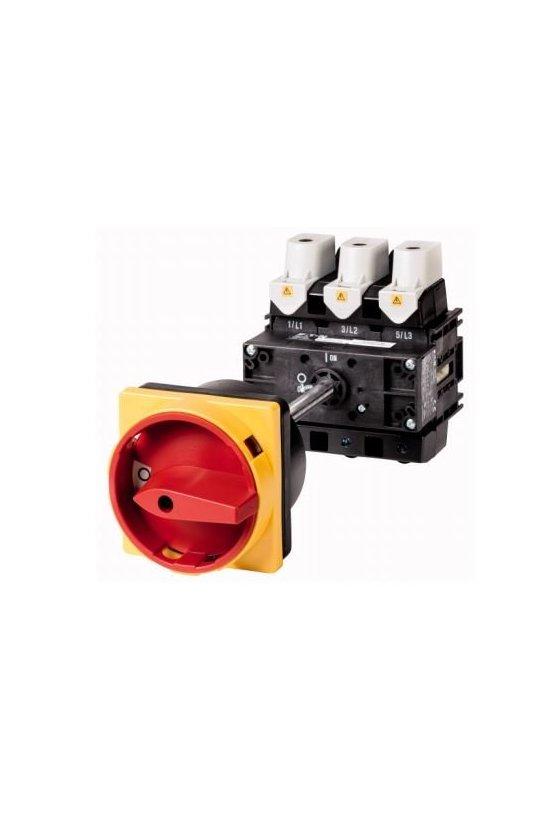 280914 P5-125-V-SVB Interruptor principal, 3 polos, 125 A, función de parada de emergencia