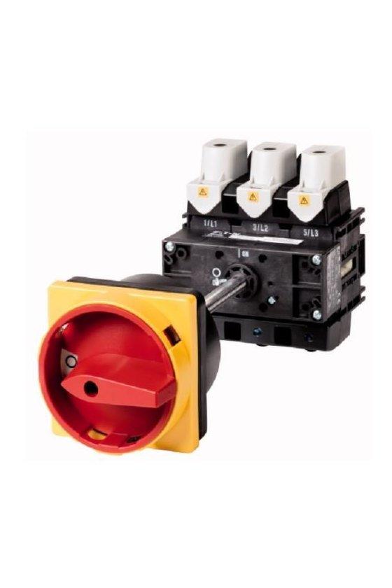 280928 Interruptor principal, 3 polos, 160 A, Función de parada de emergencia P5-160-V-SVB