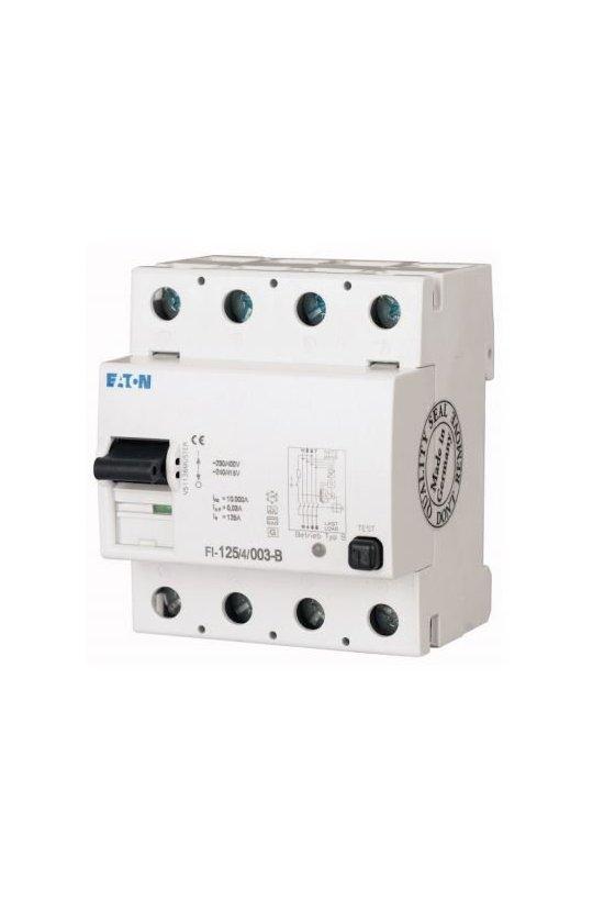 279221 Disyuntor de corriente residual, 63A, 4p, 03A, A-Char FI-63-4-003-A