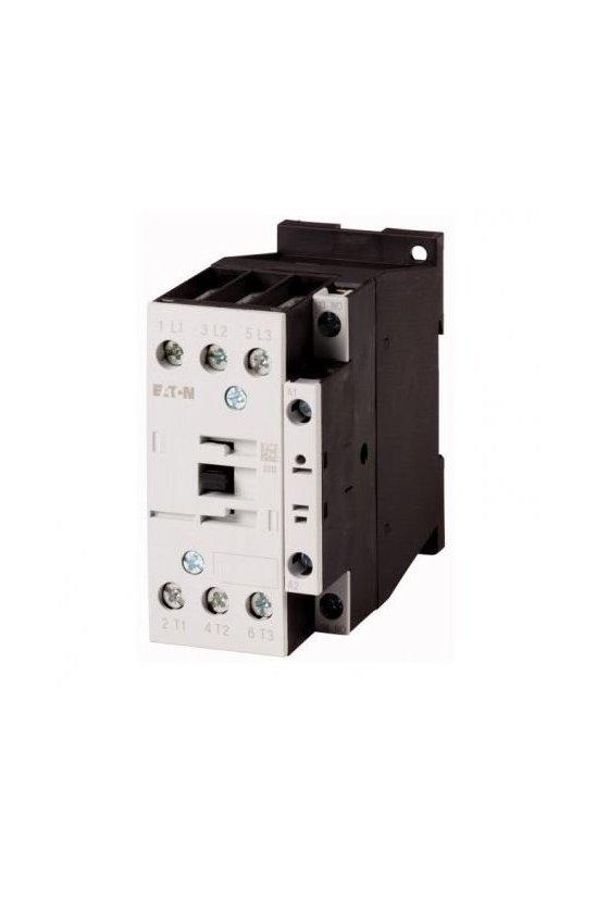 277257 DILM32-10(110V50HZ 120V60HZ) Contactor, 3p + 1N / O, 15kW / 400V / AC3
