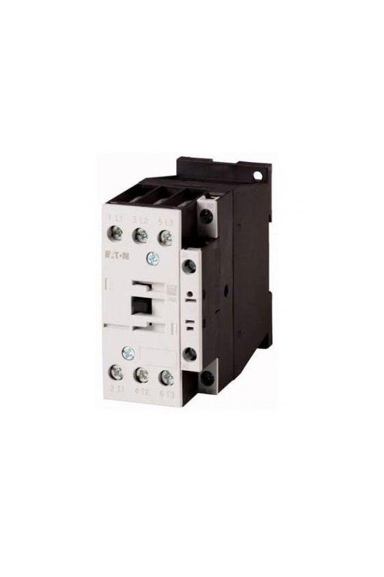 277251 DILM32-10(24V60HZ) Contactor, 3p + 1N / O, 15kW / 400V / AC3