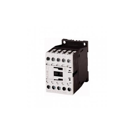 276565 Contactor, 3p+1N/O, 3kW/400V/AC3 DILM7-10(24VDC)