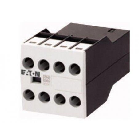276429 Módulo de contacto auxiliar, levantado, 1N / O + 1N / O temprano + 1N / C + 1N / C tarde, montaje en superficie