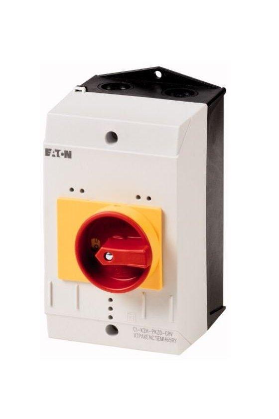 219655 CI-K2-PKZ0-GR Gabinete aislado, para PKZ0, + mango giratorio, rojo / amarillo