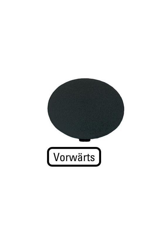 218277 M22-XDP-S-D15 Placa de botón, hongo negro, FORWARDS
