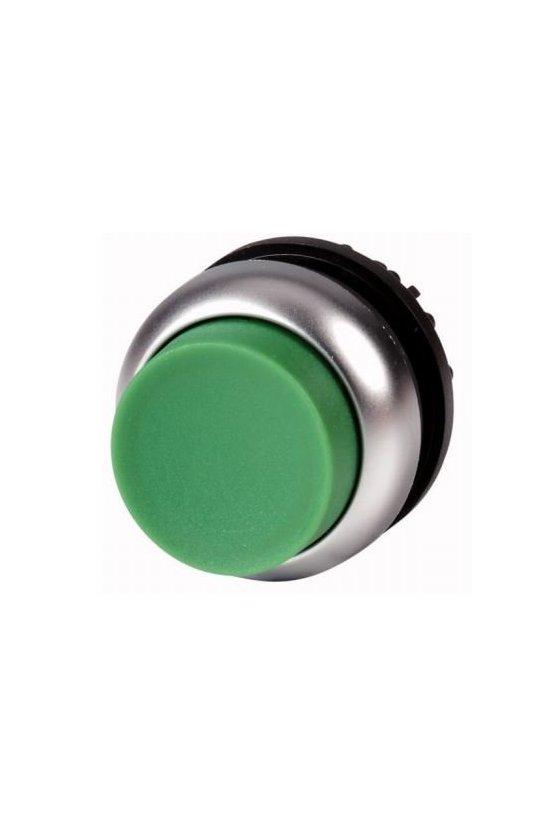 216643 M22-DH-G Pulsador, levantado, verde, momentáneo
