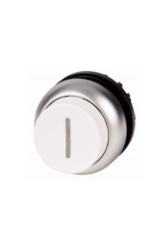 216681 M22-DRH-W-X1 Pulsador, levantado, blanco I, mantenido