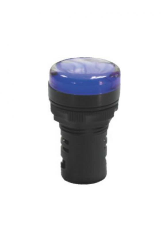 SLDS1104 Lampara Tipo Led 110vca Azul