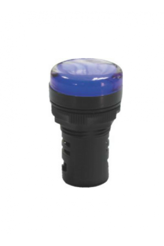 SLDS2204 Lampara Tipo Led 220 vca Azul