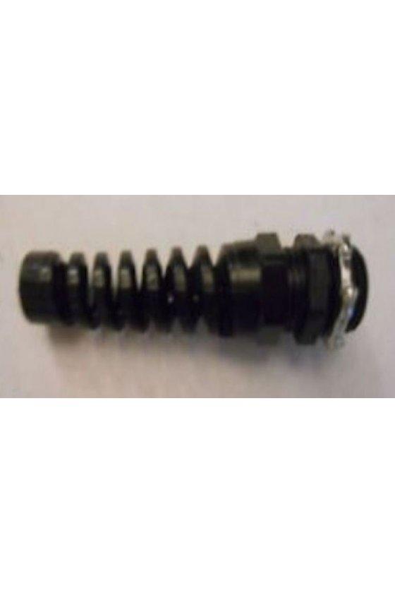 27329 Protector de cable, nylon negro flexible, HF1-2NPS