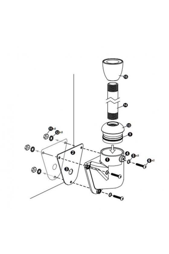 LMBE12RA,Soporte de Montaje de la luz indicadora,18350