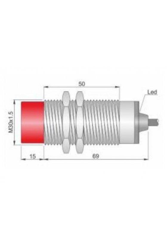 SI30CE15 NPN NO (I30000069) SENSOR DE PROX30MM DIAMSENSA 15MM 10-30VDC
