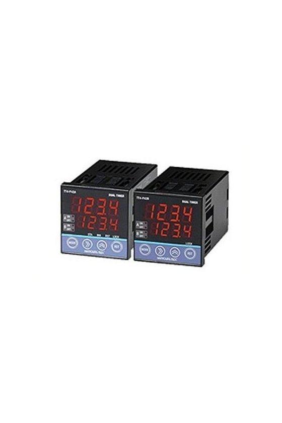 Temporizador dual digital ON-OFF 2 indicadores TT4-P42B