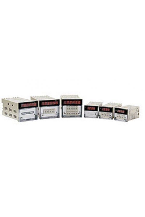 GF7P41E Contador 1 Predeterminado T.switch 72x72mm 4 dígitos 100-240vca input NPN-PNP