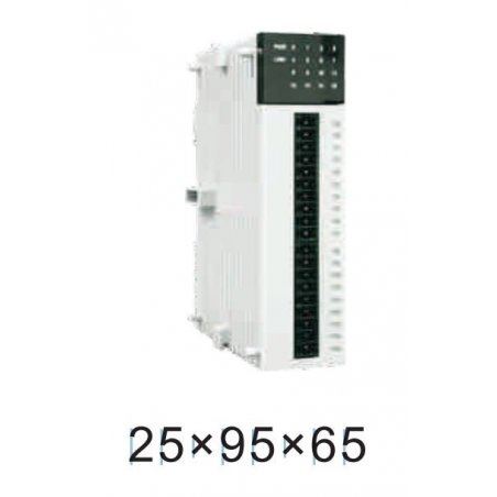 AE-8Y-R Modulo digital 8 do (relay), dc 24v, 4.8w