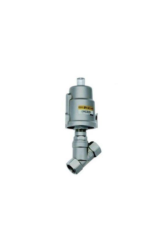 EMC-15-40-A-EMCJ-15-40S1 VALVULA ANGULAR 1/2 TOTALMENTE ACERO INOXIDABLE