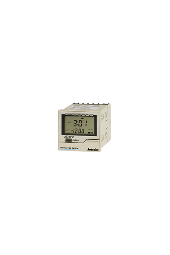 LE7M-2  Temporizador digital