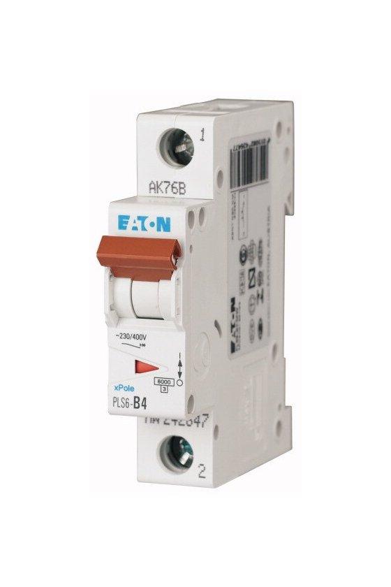 PLS6-B4-MW, Disyuntor miniatura (MCB) 4 A, 1p, característica: B 242647