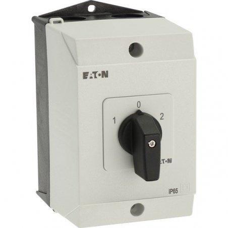 T3-3-8401/I2, Interruptores inversores T3 32A montaje en superficie 3 unidades de contact, Contactos 5, 60 ° 207188