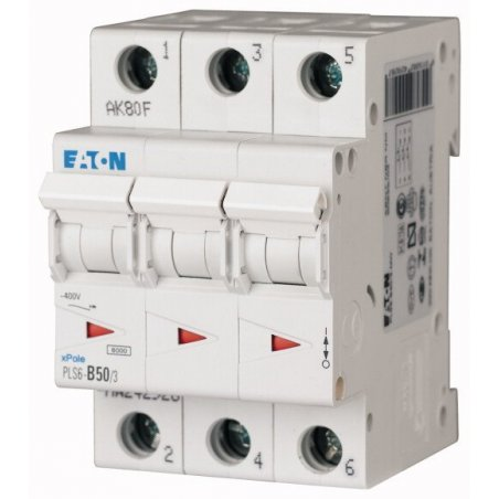PLS6-C50/3-MW, Disyuntor miniatura (MCB) 50A 3p característica: C 242954