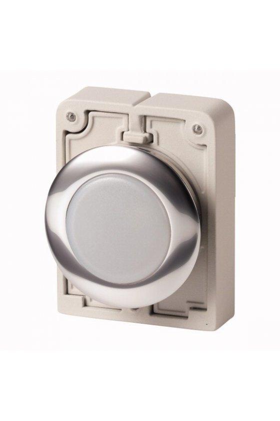 M30C-FL-W, luz indicadora, RMQ-Titan, plano blanco, bisel de metal 183287