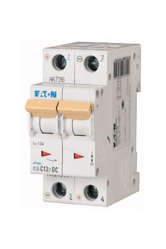 PLS6-C13/2-DC-MW, Disyuntor miniatura (MCB) 13A 2p característica: C, DC 243134