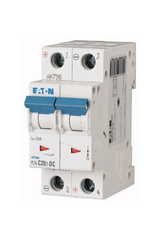 PLS6-C20/2-DC-MW, Disyuntor miniatura (MCB) 20A 2p, característica: C DC243136