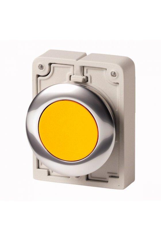 M30C-FL-Y, Luz indicadora RMQ-Titan plano, amarillo, bisel de metal 183285