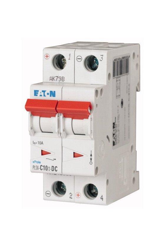PLS6-C10/2-DC-MW, Disyuntor miniatura (MCB) 10A 2p característica: C, DC 243133