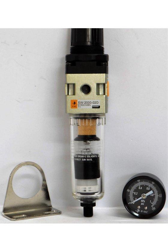 EW2000-025-T FILTRO REGULADOR 1/4 1078 L/MIN