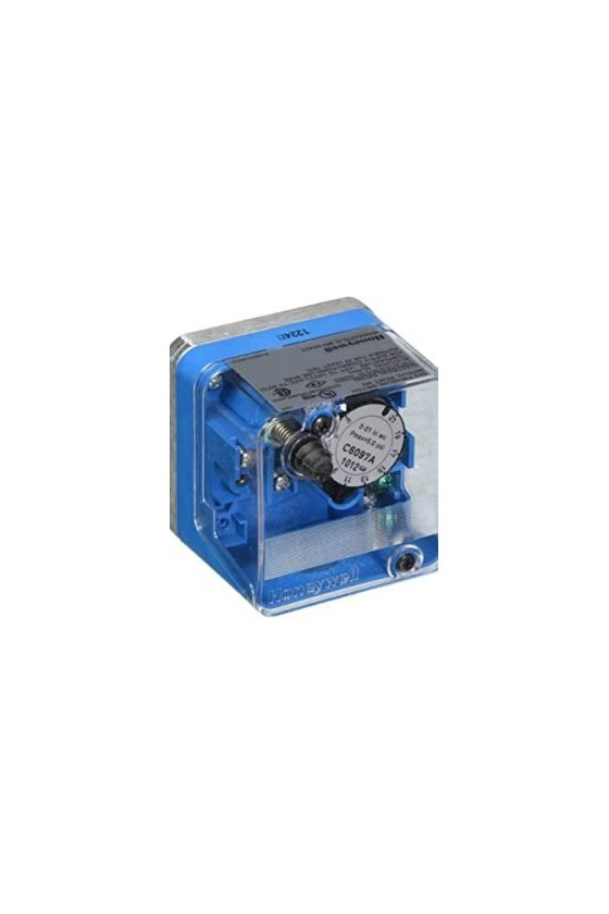 C6097B1093 Interruptor de presión con brida 1.5 a 7Psi Dif subtractiva, abre al aumentar la presión